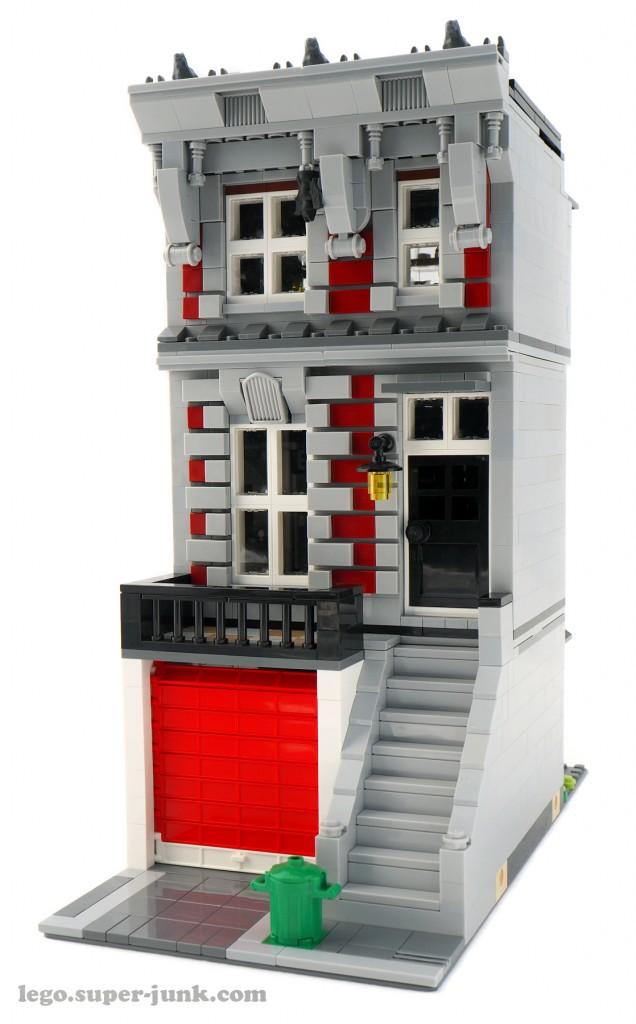 Lego Fire Brigade Modular Alternate Build