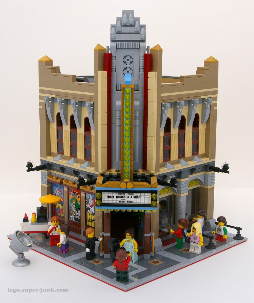 Lego Palace Cinema Remodel by Super-Junk