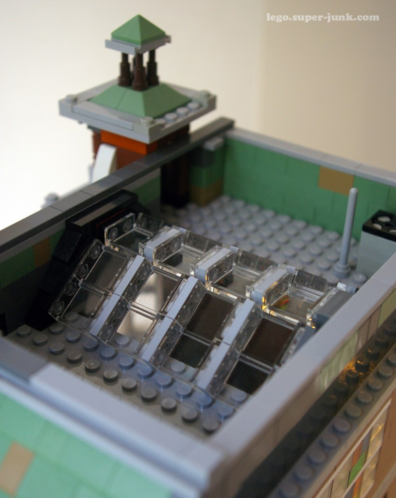 Lego Modular Building skylight by Super-junk
