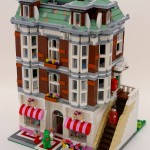 Lego Modular Building and Sweet Shop by Super-Junk
