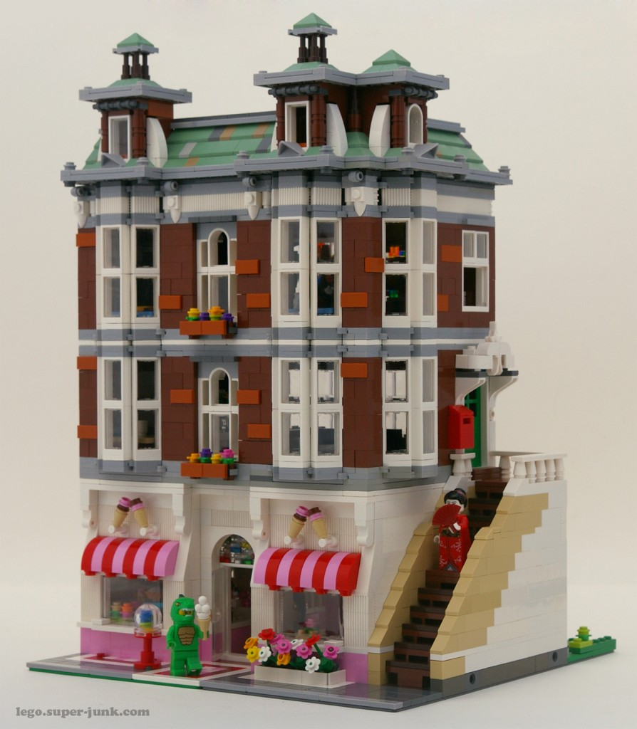 Lego Sweet shop Modular building2