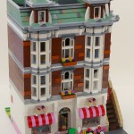Lego Sweet Shop modular building MOC by Super-Junk