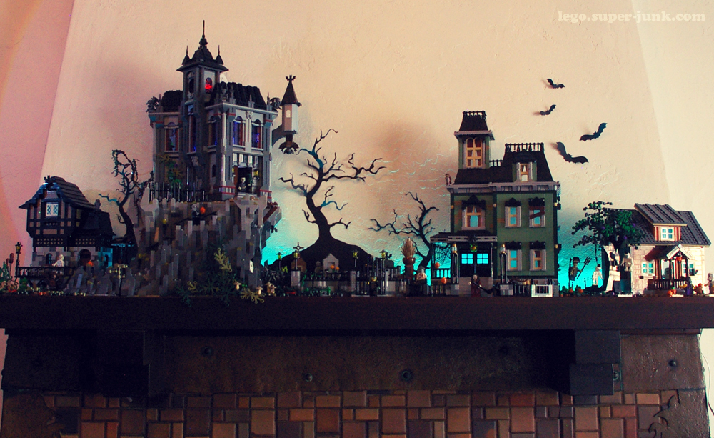 halloween layout by Super-junk