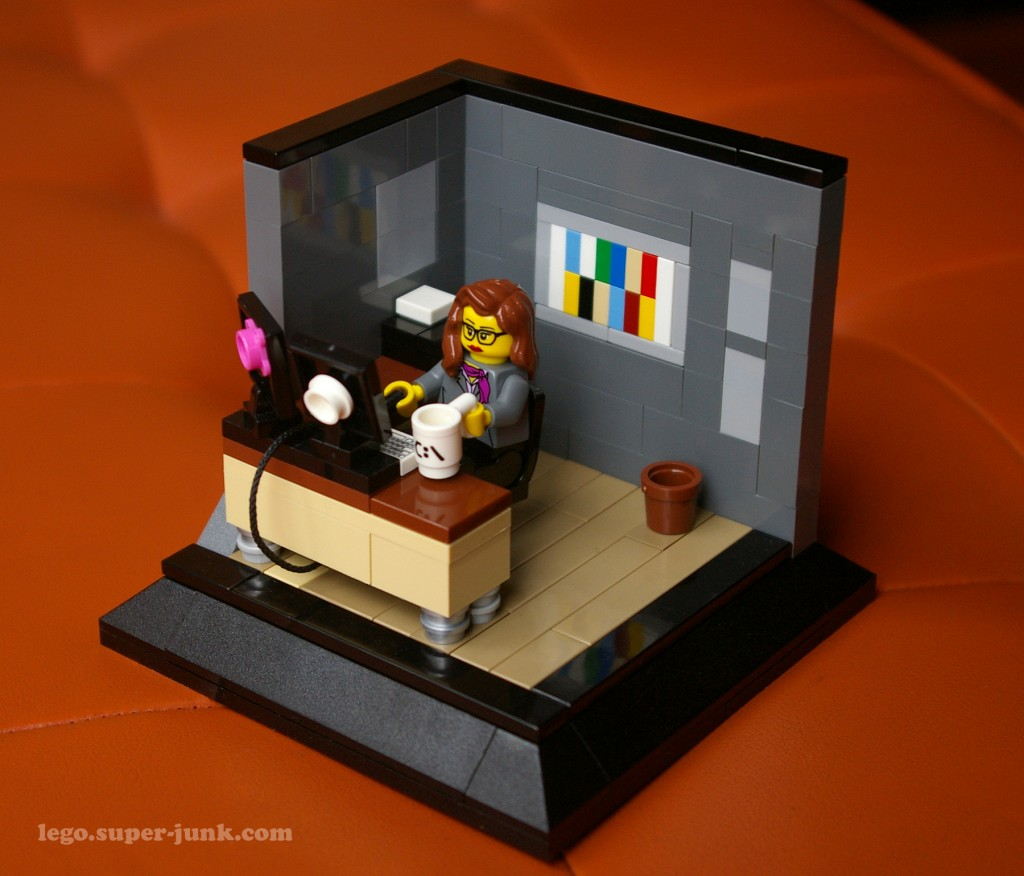 Lego self Portrait Vignette by Super-Junk