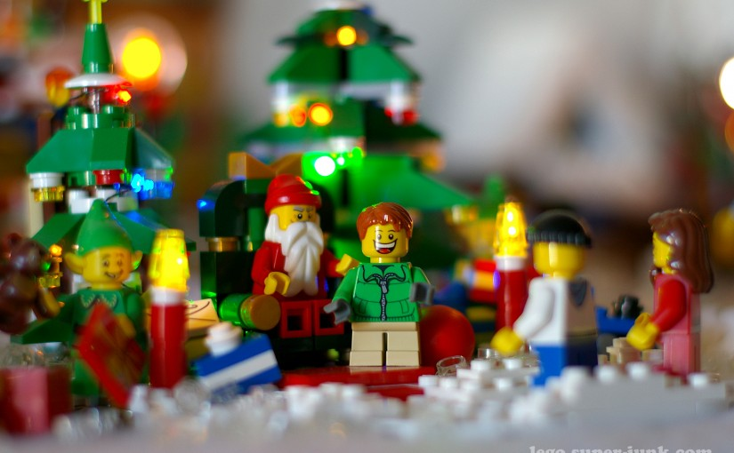 Lego Winter Village Layout