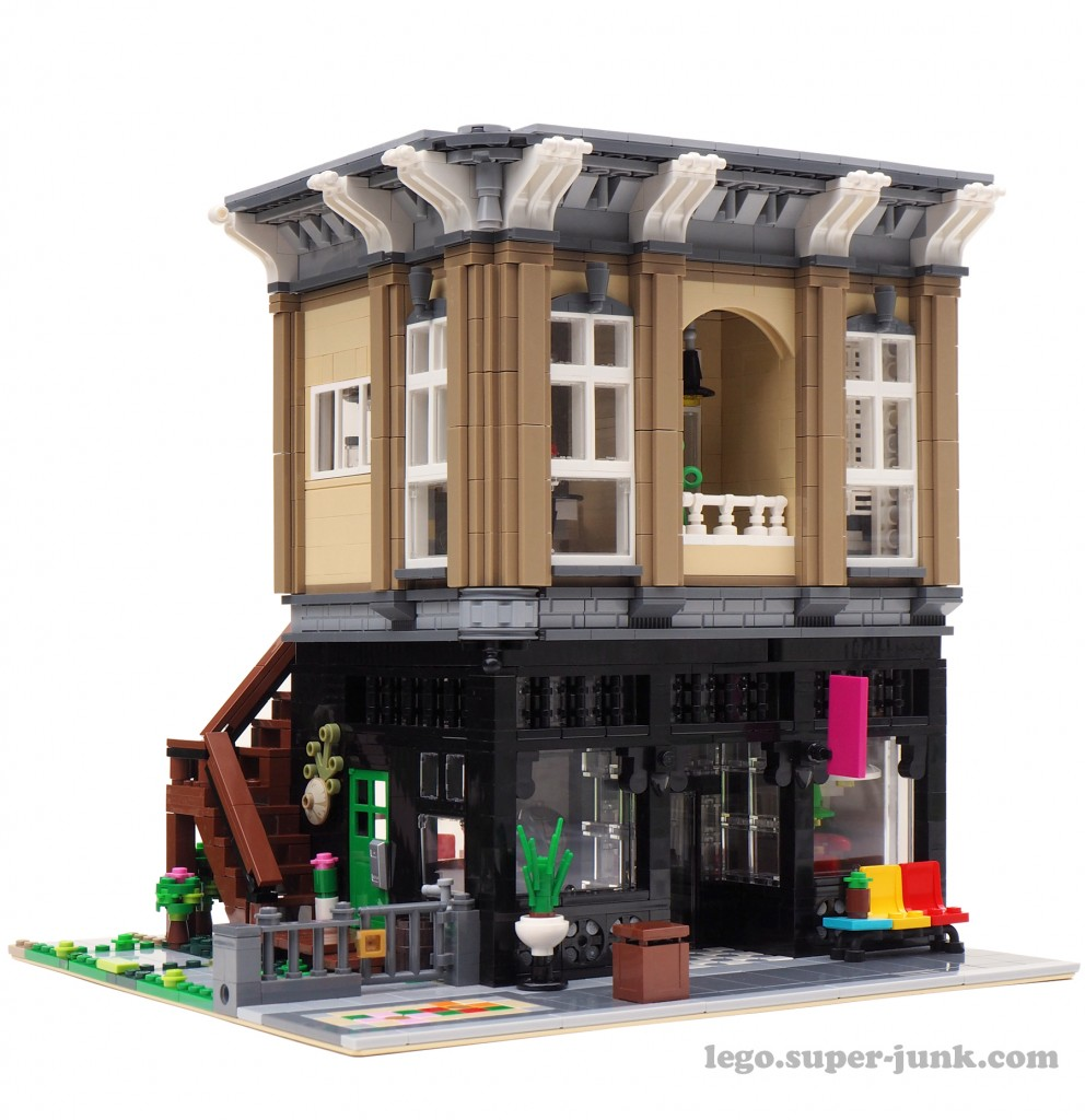 Modular Building - Antique Store MOC by Super-Junk
