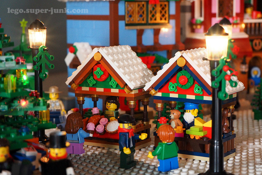 Lego MOC Winter Village by Super Junk