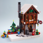 MOC Santa's Workshop Lego by Super-Junk