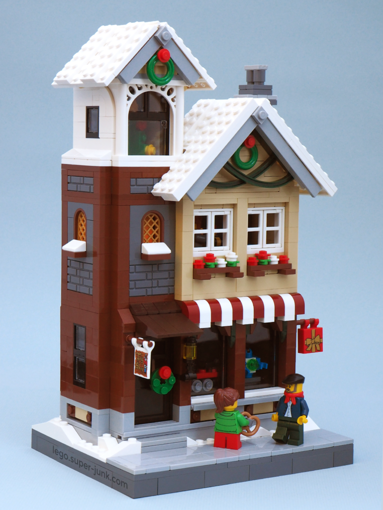 MOC Christmas Toy Shop Lego by Super-Junk