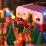 Lego MOC Winter Village Christmas tree lot