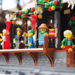 Moc LEGO Winter Village Train Station by Super Junk